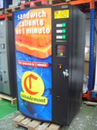 Expendedoras de sandwiches calientes 2 variedades
