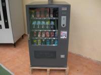 Máquina expendedora de snacks y referescos 28 selecciones en garantía