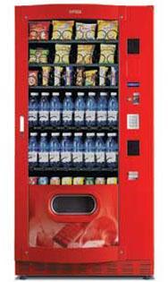 Expendedora de Snacks y Bebidas, acorazada FAS SKUDO 900